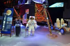 Replica Lunar Excursion Module at Naval Aviation Museum photo gallery and video