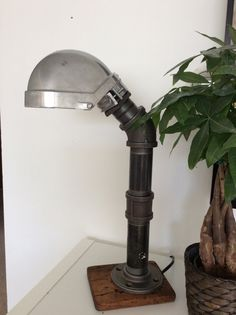 Industrial/Modern Table Lamp/ Desk Lamp Light by MadeByTommy