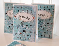 Birthday Invitations with PoppyDesign Papers!