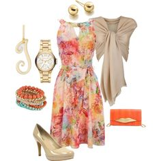 Flower Outfit by hread on Polyvore