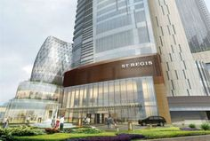 The St. Regis Chengdu is set to launch in July with an exclusive address in the heart of Chengdu's business district. Chengdu, Shop Facade, Singapore Fashion, Cultural Capital, Hotel Branding, Million Dollar Homes, The St, Hotels And Resorts, Marina Bay Sands