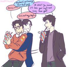 Oooooh crossover yes << yes good