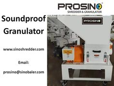 Whether you need a soundproof granulator or not? PROSINO gives you the reason why. Also know more material feeding and collection method of sound proof granulator from PROSINO. Contact our PROSINO team now! Speed Typing, Noise Levels, Compressed Air, Blow Molding, Sound Proofing, Plastic Material, Plastic Bottles, Collection, Pet Plastic Bottles