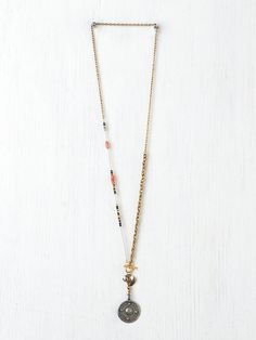 Free People Charmed Lariot Pendant at Free People Clothing Boutique