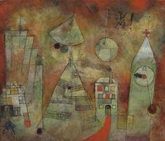 """Hour of Destiny for a Quarter to Twelve"" by Paul Klee"