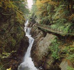 High Falls Gorge - Lake Placid, New York High Falls Gorge, Lake Placid New York, Lake George Village, Summer Vacation Spots, Adirondack Mountains, Adirondack Park, New York Travel, Best Vacations, Vacation Destinations