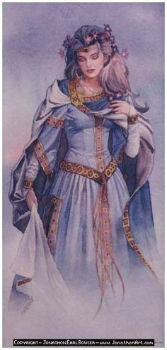 """In Norse mythology, Eir (Old Norse """"help, mercy"""") is a goddess and/or valkyrie associated with medical skill and healing. Description from pinterest.com. I searched for this on bing.com/images"""