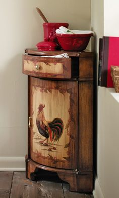 These Chicks Are Pretty Uptown For A Flock Of Country Hens. Rooster Kitchen  DecorRooster ...