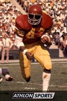 Ricky Bell was the first Trojan Pacific Conference Player of the Year in 1976.