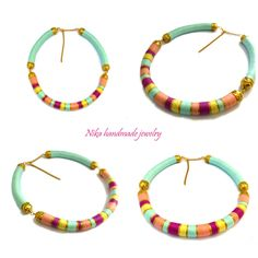 African necklace Pastel necklace #african jewelry #fashion jewelry #masai necklace