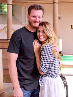 Dale Earnhardt Jr. Is Engaged to Longtime Girlfriend Amy Reimann http://www.people.com/article/dale-earnhardt-jr-engaged-amy-reimann
