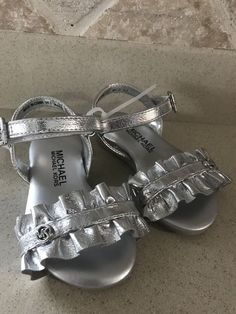 84902b13828 Michael Kors Toddler Girls Sandals Sz 5  50 VALUE!!!  fashion  clothing   shoes  accessories  kidsclothingshoesaccs  girlsshoes (ebay link)