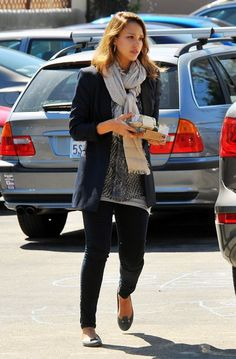 Jessica Alba Photos And Cash Warren Out