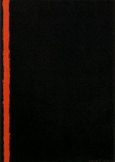 Barnett Newman. See The Virtual Artist gallery: www.theartistobjective.com/gallery/index.html