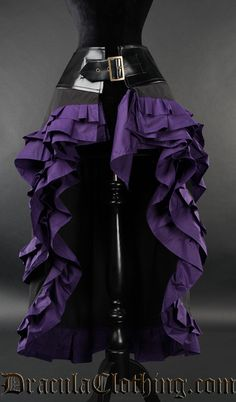 Purple Vex Skirt - XL