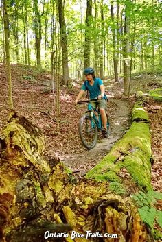 Coulson's Hill - MTB Trail - Ontario Bike Trails Mtb Trails, Centennial Park, The Other Side, Trail Running, Just Go, Mountain Biking, Ontario, Paths, Nail