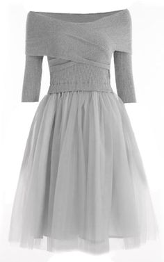 The fair and graceful lady in princess dress is charming. $41.99 Only for your party look! Free shipping&easy return! This princess dress has front cross&off the shoulder design! So chic&cute at Cupshe.com