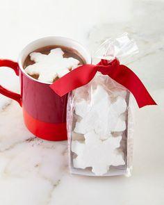 Q51W3 Saxon Chocolates NM Snowflake Marshmallows