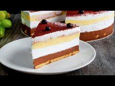 Nikdy jsem neviděl nepečený čokoládový dort s takovou texturou!| Cookrate - Czech - YouTube Vanilla Cake, Cheesecake, The Creator, Chocolate, Food, Casserole Recipes, Deserts, Condensed Milk, Texture