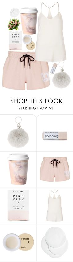 """""""#34"""" by oneandonlyfashion ❤ liked on Polyvore featuring Imm Living, Topshop, Herbivore, Goldie, Korres and H&M"""