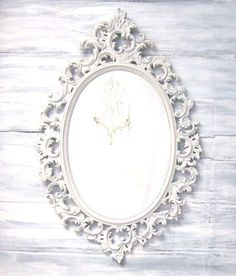 French Decorative Items for Sale   DECORATIVE VINTAGE MIRRORS For Sale French Country Oval Shabby Chic ...