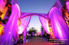 The fabulous wedding entrance - Royal entrée for more themes visit : http://www.glamshine.in/