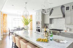 High Style Kitchen & Breakfast Room  Kitchen  Modern by MA Allen Interiors