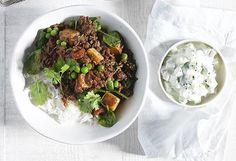 North Indian minced meat curry courtesy of Beefandlamb.com.au