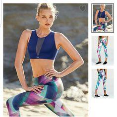 Victorias secret workout capri New with out tags Victoria's Secret Pants Leggings