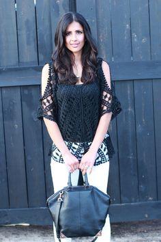 Fevrie.com top, Paige denim, Alexander Wang - Date Night Style