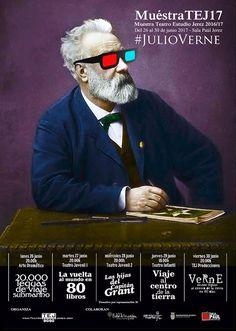 """En la semana del 26 al 30 de Junio tendrá lugar la muestra de Teatro estudio Jerez ,una compañía referente en nuestra ciudad con gran poder de convocatoria.  Este año su programación teatral girará entorno a la figura de Julio Verne. El horario de la semana es la siguientes: - Lunes 26 Junio, 20h. Arte Dramático.  """"20.000 leguas de viaje submarino"""" - Martes 27 Junio, 20h. Teatro Juvenil I.  """"La vuelta al mundo en 80 libros"""" - Miércoles 28 Junio, 20h. Teatro Juvenil II.  """"Las hijas del…"""