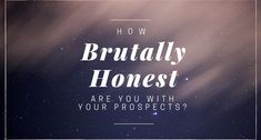 """Have you ever had a prospect ask you some variation of…  """"It sounds good, so if I do what you're telling me, I can really do this and make a boatload?""""  Now, even though network marketing companies make the business sound really appealing, the cold hard truth is…"""