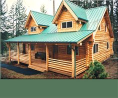 (The perfect cabin) Preassembled Log Homes and Cabins by Homestead Log Homes