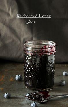Blueberry and Honey Jam - What She's Having Jelly Recipes, Jam Recipes, Canning Recipes, Honey Recipes, Blueberry Jam, Blueberry Recipes, Blueberry Season, Blackberry, Jam And Jelly