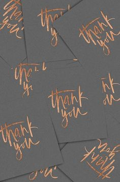 It's official: copper is having a moment. From table decor to the groom's look, here are 18 bright copper wedding details to make your day shine. Wedding Decor, Wedding Day, Thank You Notes, Thank You Cards, Brush Lettering, Hand Lettering, Wedding Stationary, Wedding Invitations, Copper Wedding