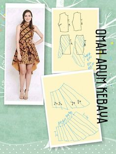 Batik Dress, Easy Sewing Patterns, Pattern Drafting, Diy Costumes, Sewing Techniques, Pattern Making, Pattern Fashion, Sewing Projects, Style Inspiration