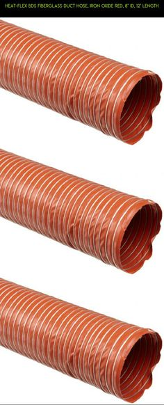 """Heat-Flex BDS Fiberglass Duct Hose, Iron Oxide Red, 8"""" ID, 12' Length #8 #parts #duct #fpv #camera #shopping #products #technology #racing #gadgets #kit #tech #heating #plans #drone"""