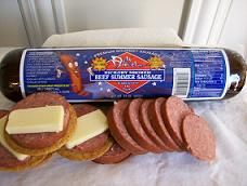 Nothing reminds me more of family than summer sausage. When we have family get together's that is our staple snack. I am craving some right now.