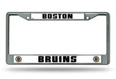 BOSTON BRUINS CHROME FRAMES