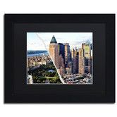Found it at Wayfair - Central Park in Town by Philippe Hugonnard Framed Graphic Art