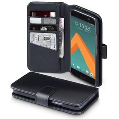 Köp äkta läderplånbok från Terrapin till din HTC 10 online: http://www.phonelife.se/terrapin-akta-laderplanbok-htc-10-svart