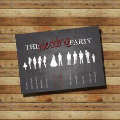 The Wedding Party Program (digital file)