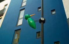 Giant street woodpecker.