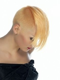 Girl Mohawk Hair Styles 2012 #blazeSalon #hairstyles #haircuts #Color #redhair