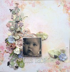 Blue Fern Studios: April Sketch Challenge Winner and our Featured Layouts!