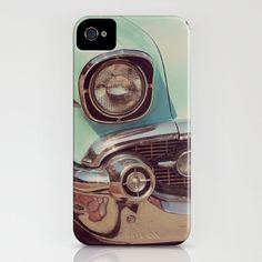 57 Chevy IPhone 4/4S Iphone 5 Samsung Galaxy 4S by RedOakImages, $39.00 #Vintage #etsy