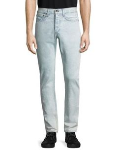 RAG & BONE Straight-Fit Jeans. #ragbone #cloth #jeans