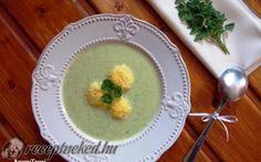 Petrezselyem leves sajtgombóccal recept fotóval