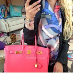 Pink Birkin bag - Blondie Luxe