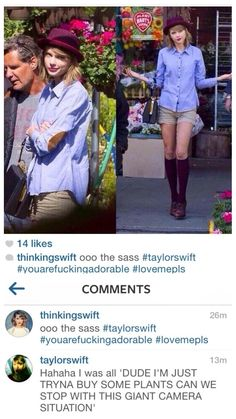 I guess it would be hard to shop and have a camera at you. Taylor Swift Quotes, Taylor Alison Swift, Swift 3, Celebs, Celebrities, Role Models, My Idol, Love Her, Queens